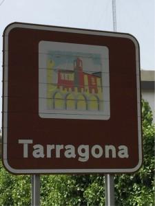 Schild tarragona